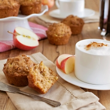 Cinnamon-Streusel Apple Muffins | Fork Knife Swoon