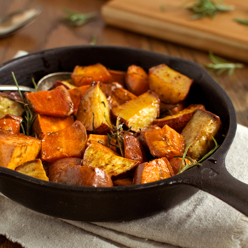 Roasted Sweet Potatoes - Fork Knife Swoon