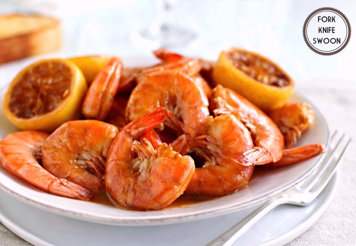 Creole Barbecue Shrimp