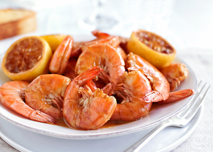 New Orleans Creole Barbecue Shrimp   Fork Knife Swoon @forkknifeswoon