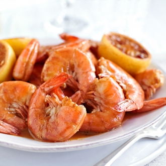 New Orleans Creole Barbecue Shrimp | Fork Knife Swoon @forkknifeswoon