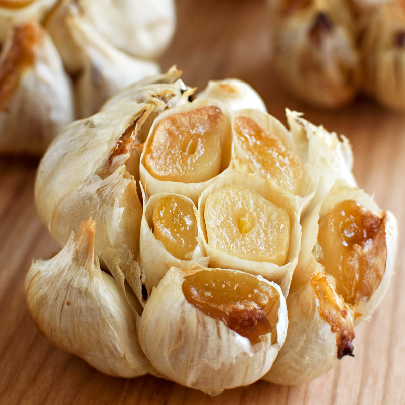 Whole-Roasted Garlic - Fork Knife Swoon