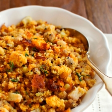 Apple Sausage & Cornbread Dressing