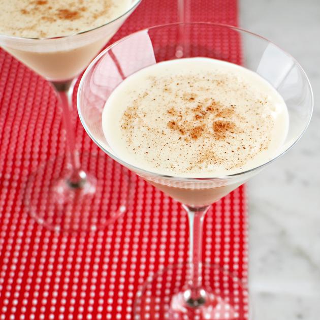 Boozy Eggnog Cocktail