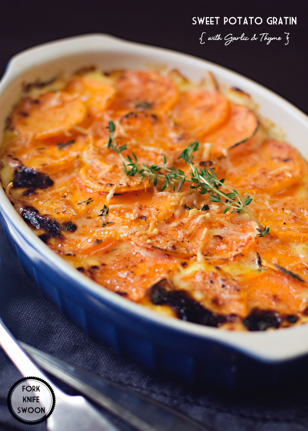 and sweet potato gratin baked leek and sweet potato yellow potato ...