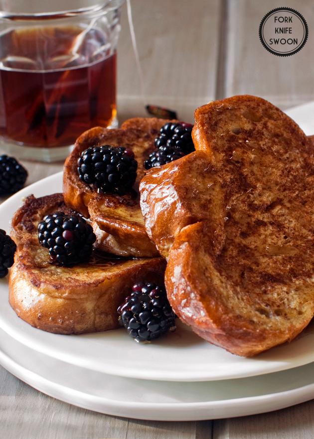 Vanilla Honey French Toast
