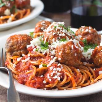 Loaded Italian Style Turkey Meatballs