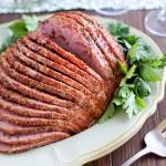 Honey Mustard Glazed Ham | Fork Knife Swoon