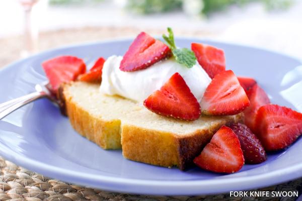 Lemon Yogurt Cake | Fork Knife Swoon