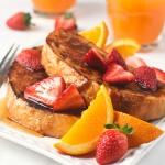 Orange Coconut French Toast