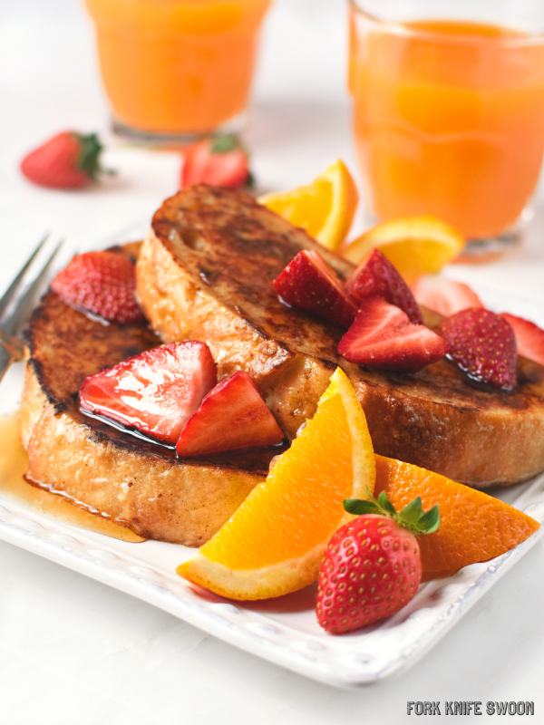 Orange Coconut French Toast