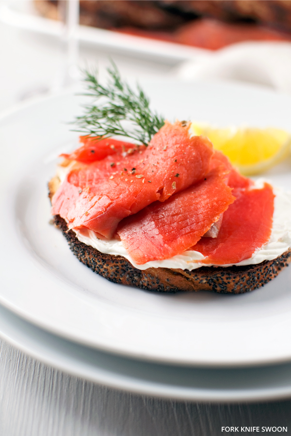 Salmon on Toast | Fork Knife Swoon