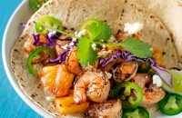 Grilled Shrimp and Pineapple Tacos | Fork Knife Swoon