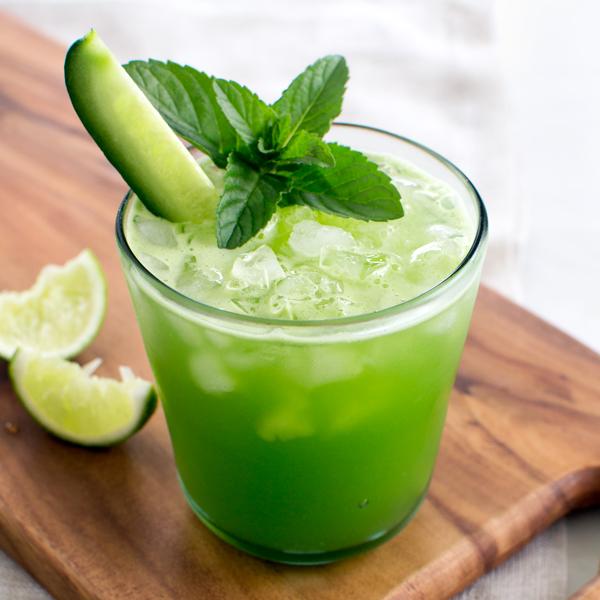 Cucumber Lime Agua Fresca | Fork Knife Swoon