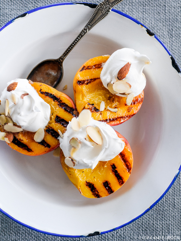 Grilled Peaches | Fork Knife Swoon