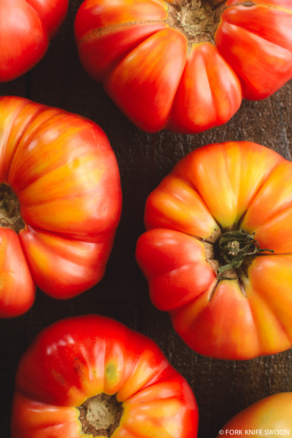 Heirloom Tomato and Eggplant Galette | Fork Knife Swoon