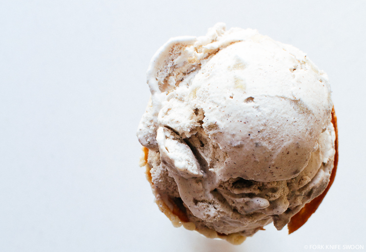 Apple Cinnamon Ice Cream | Fork Knife Swoon