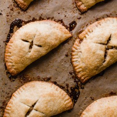 Homemade Apple Hand Pies via forkknifeswoon.com | @forkknifeswoon