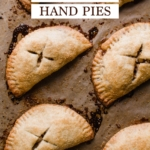 Homemade Apple Hand Pies