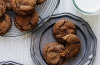Chewy Ginger Cookies   Fork Knife Swoon