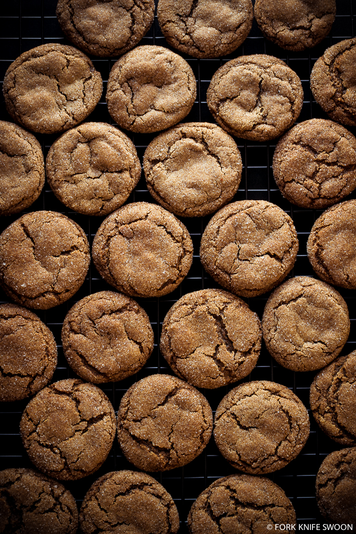 Soft and Chewy Ginger Cookies by Fork Knife Swoon | Epicurious ...