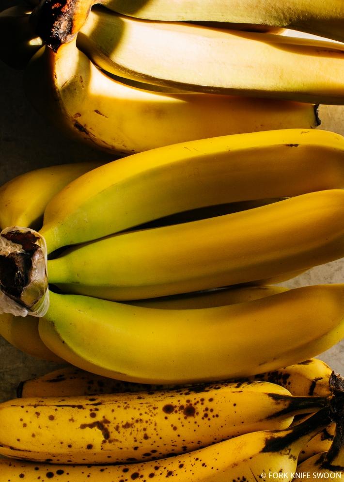 Dark Chocolate Banana Muffins | Fork Knife Swoon