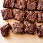 Whole-Grain Triple Dark Chocolate Brownies | Fork Knife Swoon