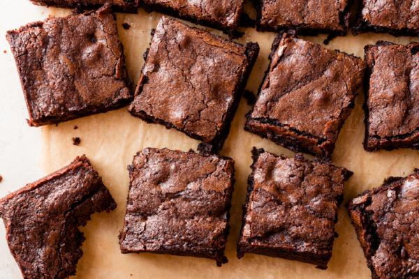 Whole-Grain Triple Dark Chocolate Brownies   Fork Knife Swoon