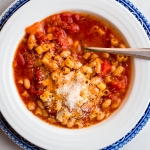 Tomato and White Bean Stew with Ditalini | Fork Knife Swoon @forkknifeswoon