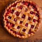 Lattice Top Strawberry Pie | Fork Knife Swoon