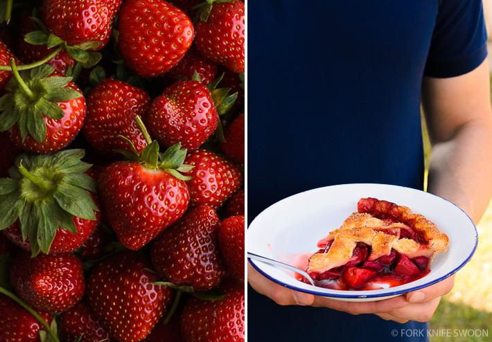 Lattice Top Strawberry Pie   Fork Knife Swoon