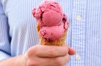 Cherry Berry Swirl Frozen Yogurt | Fork Knife Swoon