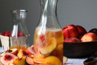 Summer Stone Fruit Sangria | Fork Knife Swoon