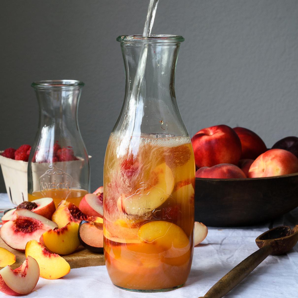 Summer Stone Fruit Sangria | Fork Knife Swoon