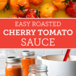 Recipe for an easy roasted omato sauce