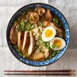 bowl of homemade chicken ramen