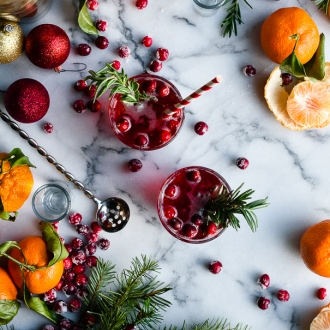 #AbsolutWarhol Holiday Pop Cocktail   Fork Knife Swoon @forkknifeswoon