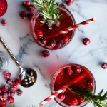 #AbsolutWarhol Holiday Pop Cocktail | Fork Knife Swoon @forkknifeswoon