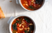 Tomato, White Bean and Kale Soup | Fork Knife Swoon @forkknifeswoon