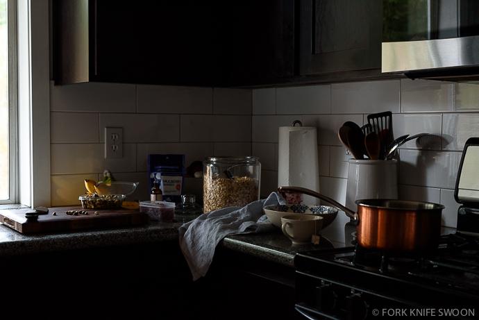 Berry Swirled Maple Oatmeal Breakfast Bowl | Fork Knife Swoon @forkknifeswoon