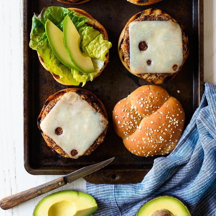 Ultimate Quinoa Veggie Burgers via forkknifeswoon.com