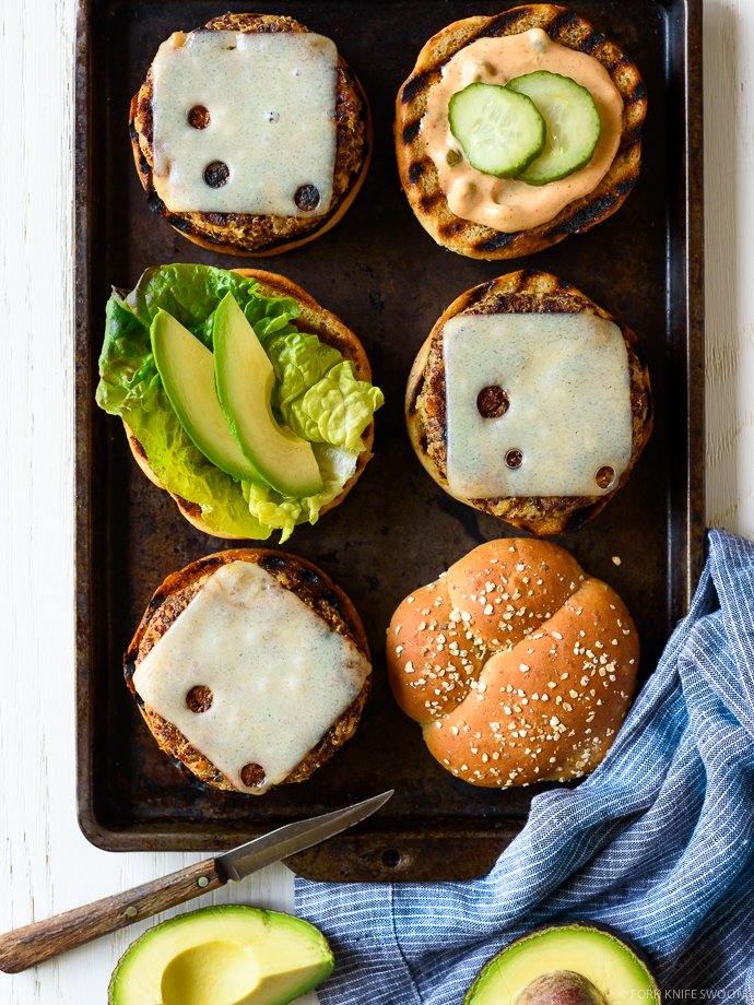 Ultimate Quinoa Veggie Burgers   Fork Knife Swoon @forkknifeswoon