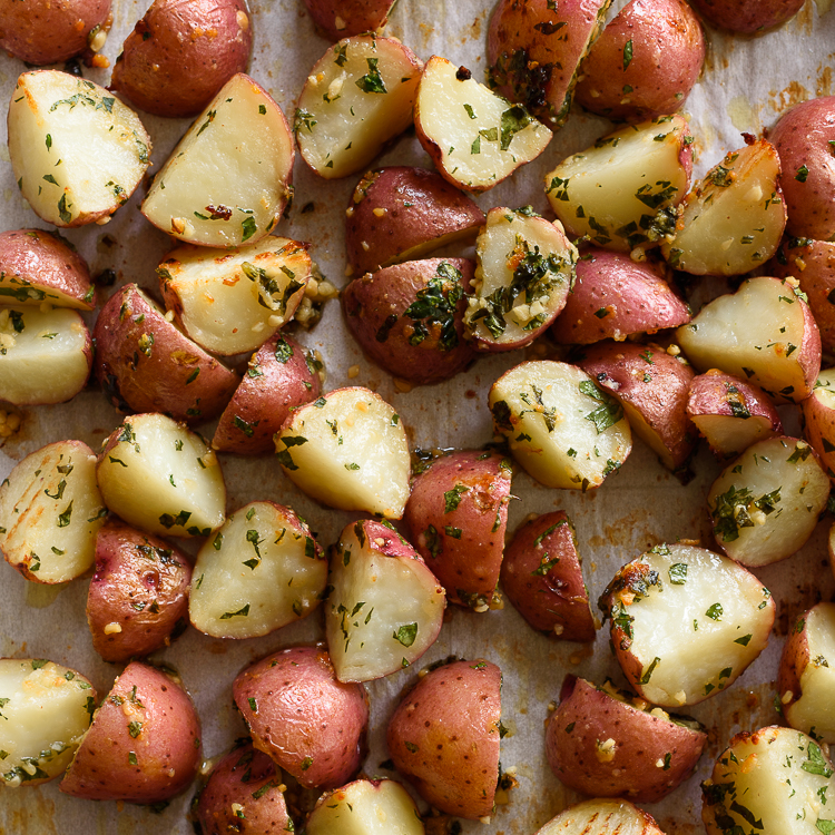 Forked Oven-Roasted Potatoes Recipes — Dishmaps
