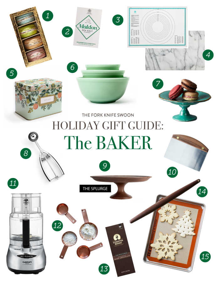 29 Holiday Gift Ideas for the baking obsessed! Lots of present ideas in a range of prices, from stocking stuffers to big ticket splurges that bakers will love! | via forkknifeswoon.com