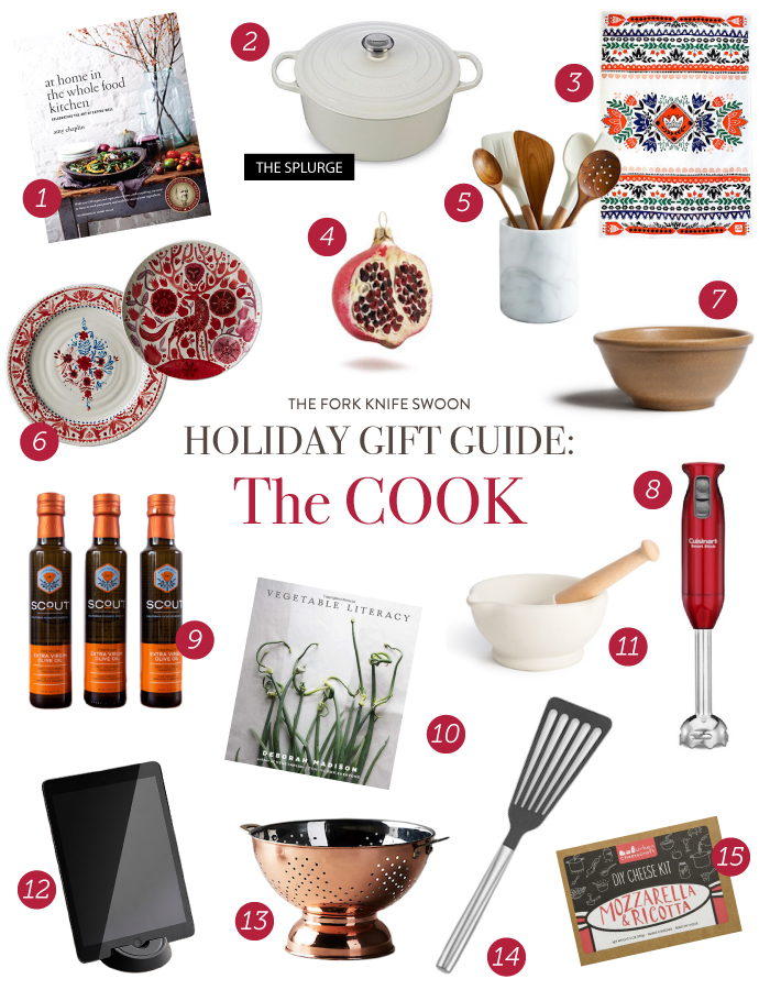 30 Holiday Gift Ideas for all of the Cooks on your list! | via forkknifeswoon.com