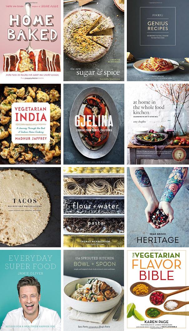 Favorite Cookbooks | via forkknifeswoon.com