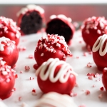 Red Holiday OREO Cookie Balls via forkknifeswoon.com