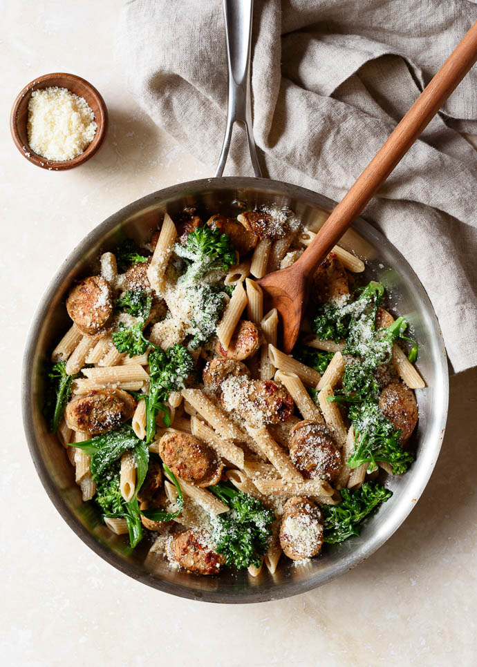 Pasta With Broccoli And Chicken Sausage Fork Knife Swoon