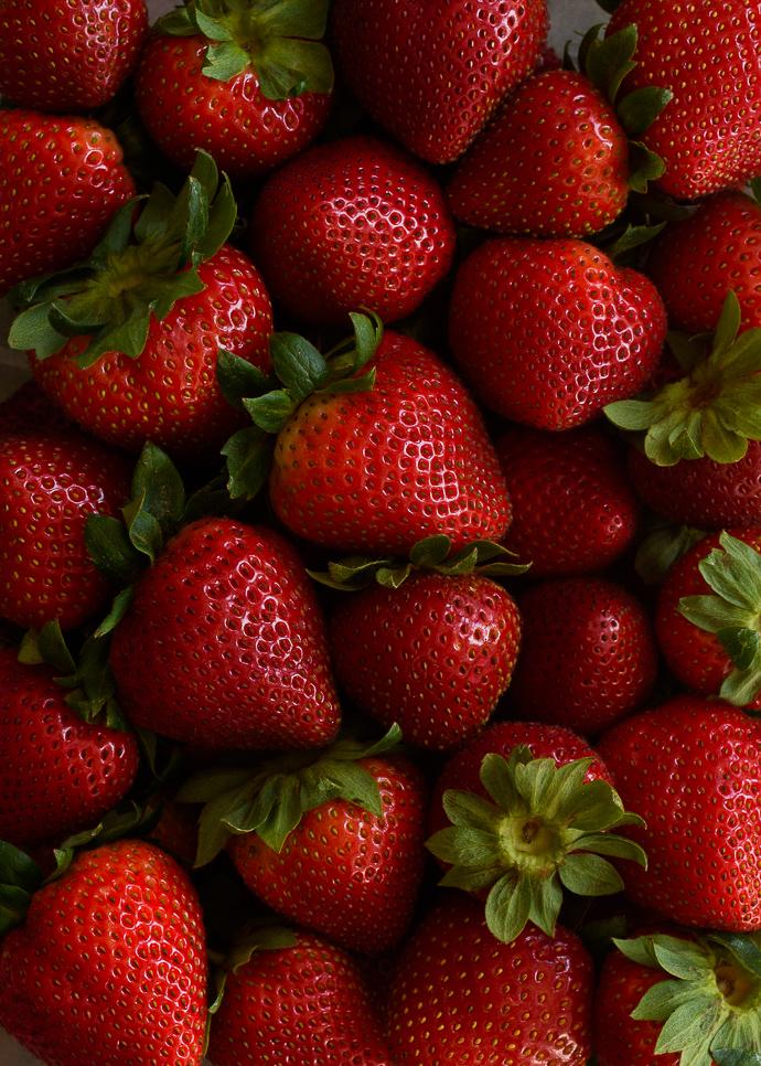 Roasted Strawberry Yogurt Breakfast Bowls with Chocolate-Coconut Granola   via forkknifeswoon.com