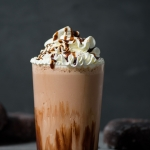 Double Chocolate Blended Iced Mocha via forkknifeswoon.com   @forkknifeswoon